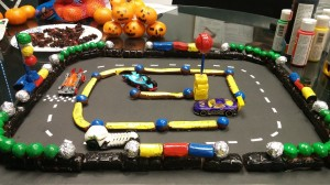 Candy Race Track for Pretend City Oct 31, 2014