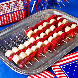 Fun and Healthy 4th of July Party Snacks